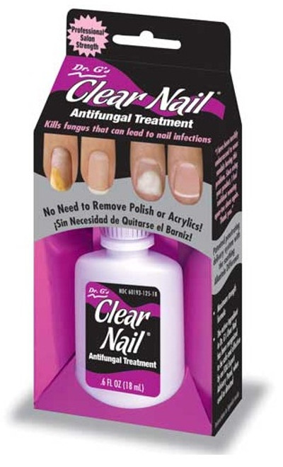 Nail Supplements: Dr. G\'s Clear Nail - Antifungal Treatment