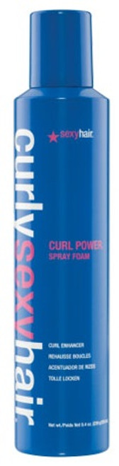 Curly Sexy Hair Curl Power Spray Foam