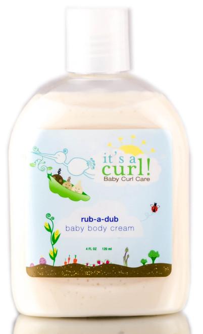 Its a Curl Rub-A-Dub Baby Body Cream by Curls