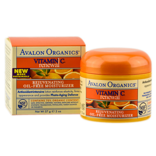 Avalon Organics Vitamin C Renewal Rejuvenating Oil-Free Moisturizer
