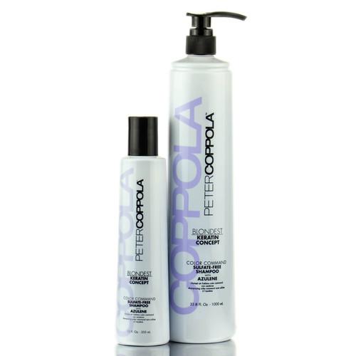 Peter Coppola Keratin Concept Color Command Sulfate-Free Shampoo w/ Azulene