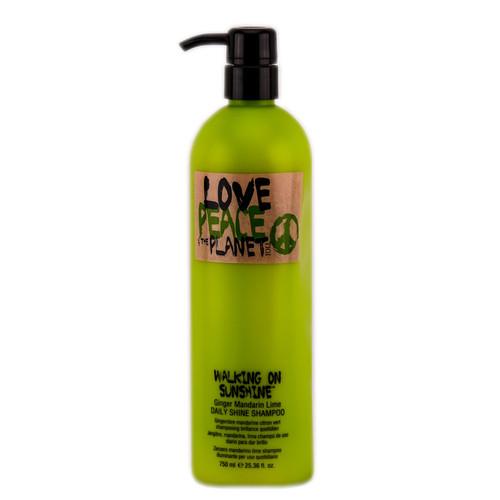 Tigi Love Peace and the Planet Walking On Sunshine Daily Shine Shampoo