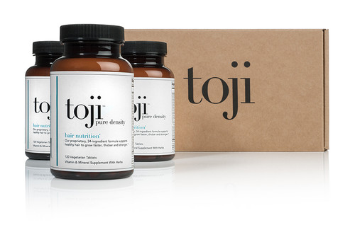 Toji Pure Density Hair Nutrition - 3 for 1 Special