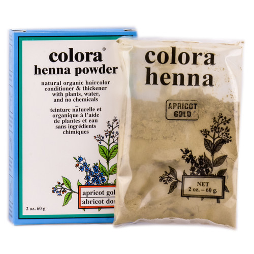 Colora Henna Powder - Natural Organic Haircolor
