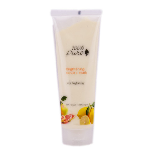 100% Pure Brightening Scrub & Mask