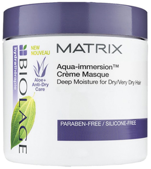 Matrix Biolage Hydratherapie Aqua-Immersion Creme Masque