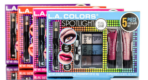 L.A Colors Spotlight Eyes & Lips Set