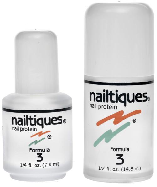 Nail Supplements: Nailtiques Nail Protein Formula 3 - care for naturally hard, dry nails