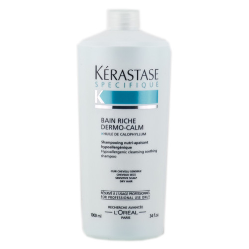 Kerastase Specifique Bain Riche Dermo-Calm Hypoallergenic Cleansing Soothing Shampoo