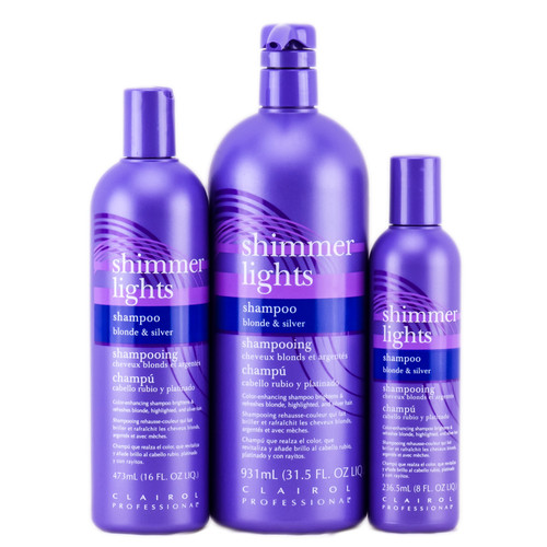 Clairol Shimmer Lights Shampoo - blonde & silver