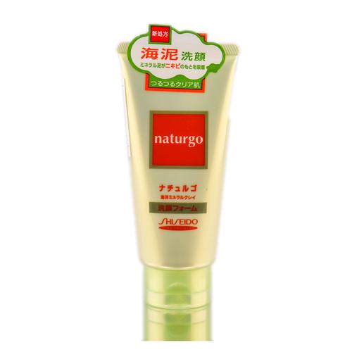 Shiseido Fitit Naturgo Ocean Mineral Clay Facial Foam