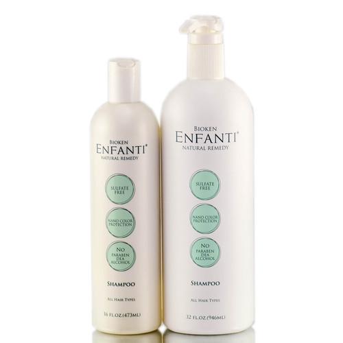 Bioken Enfanti Shampoo - For All Hair Types