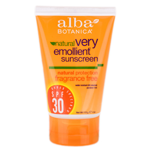 Alba Botanica Very Emollient Sunscreen Natural Protection SPF30