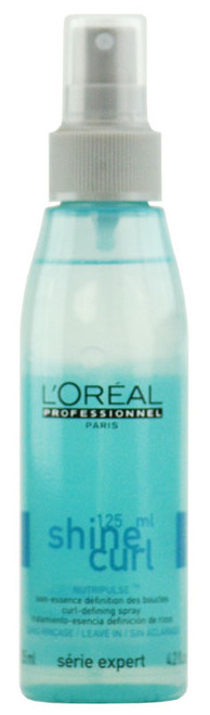 L'oreal Serie Expert - Shine Curl Leave-In Curl-Defining Spray