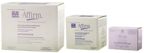 Avlon  Affirm Moisture Plus Conditioning Relaxer Kit for Dry Hair & Sensitive Scalp Formula