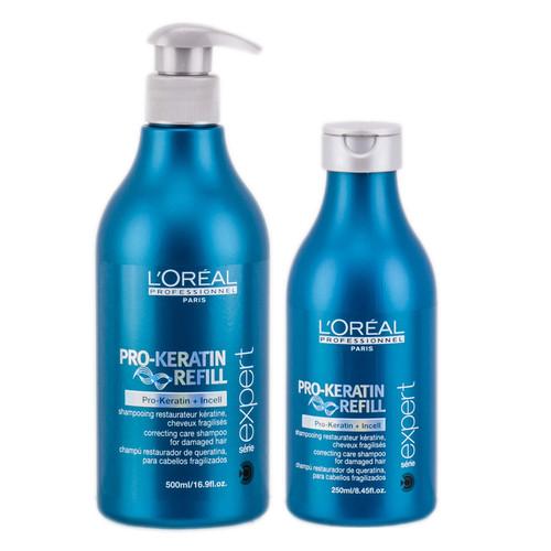 L'Oreal Serie Expert Pro - Keratin Refill Correcting Care Shampoo