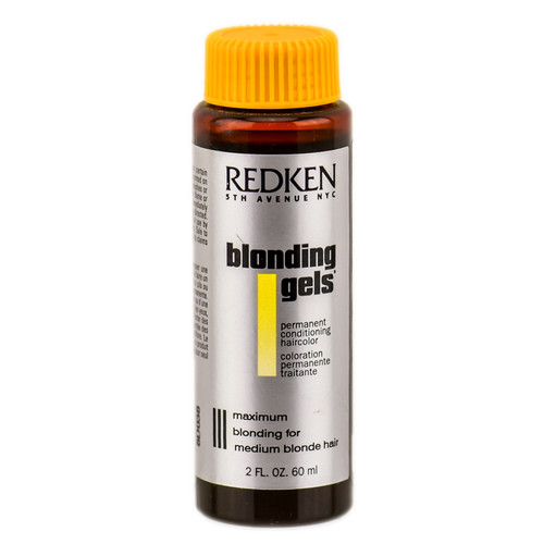 Redken Blonding Gels Permanent Conditioning HairColor