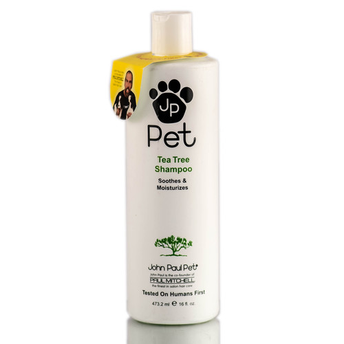 John Paul Pet Tea Tree Treatment Shampoo For Fleas, Ticks, and Hotspots