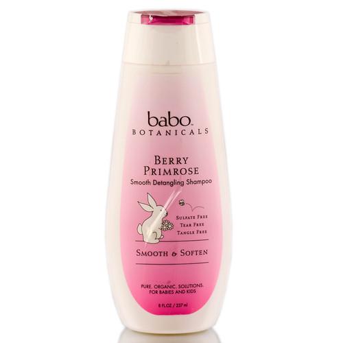 Babo Botanicals Berry Primrose Smooth Detangling Shampoo