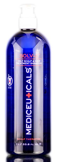 Therapro Mediceuticals Solv-X Oily Scalp & Hair Treatment Shampoo