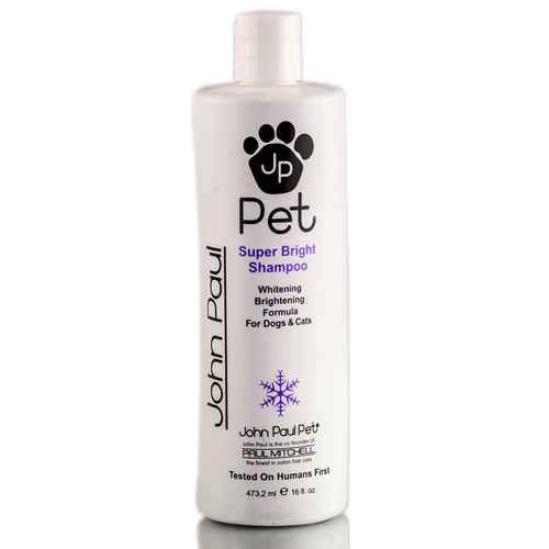 John Paul Pet Super Bright Shampoo - Brightening Formula
