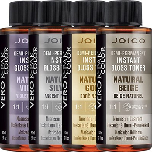 Joico Demi-Permanent Instant Gloss Toner Natural Haircolor