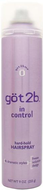 got2be In Control Hard Hold Spray