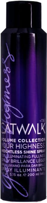 Tigi Catwalk Volume Collection - Your Highness Weightless Shine Spray