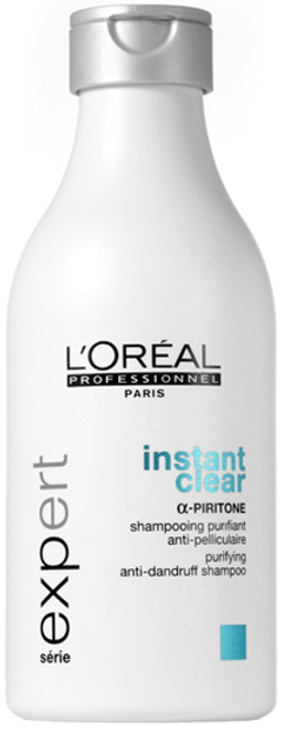 L'oreal Serie Expert Instant Clear Purifying Anti-Dandruff Shampoo