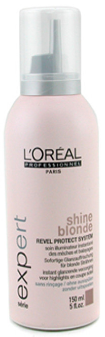 L'Oreal Shine Blonde Leave-In Instant Brightening Conditioner for Blonde Hair