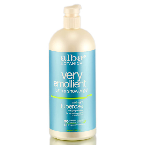 Alba Botanica Very Emollient Bath & Shower Gel - Midnight Tuberose