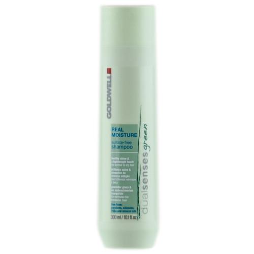 Goldwell Shampoo: Goldwell Dualsenses Green Real Moisture - Sulfate Free - Shampoo