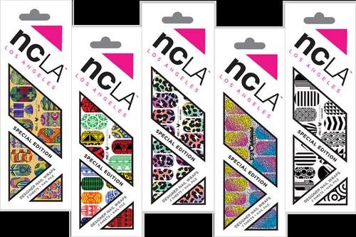 NCLA Designer Nail Wraps