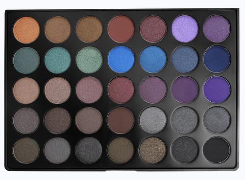 Morphe 35 Color Dark Smoky Palette