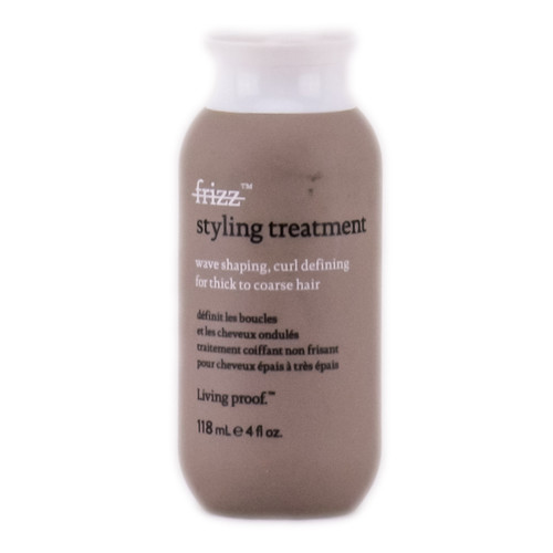 Living Proof No Frizz Sryling Treatment - Wave Shaping, Curl Defining For Thick to Coarse Hair