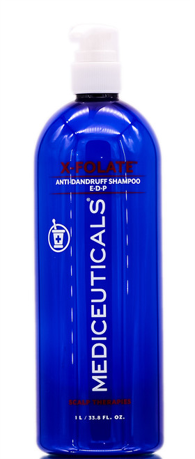 Therapro Mediceuticals X-Folate Persistent Dandruff & Psoriasis Treatment Shampoo
