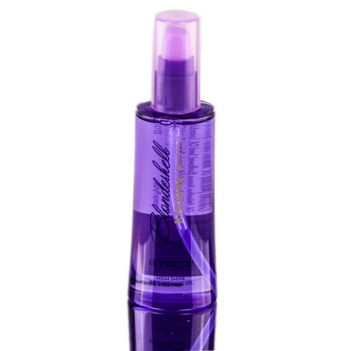 Blondeshell Keratin Complex Enhance High Shine Brightening Oil
