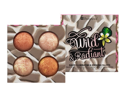 BH Cosmetics Wild & Radiant Baked Illuminating and Bronzing Palette