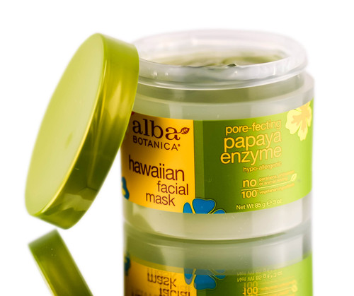 Alba Botanica Hawaiian Facial Mask - Pore Fecting Papaya Enzyme