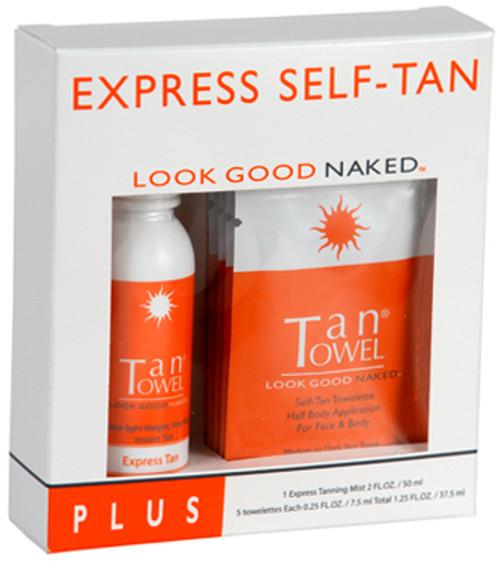 TanTowel Express Self-Tan Kit Plus