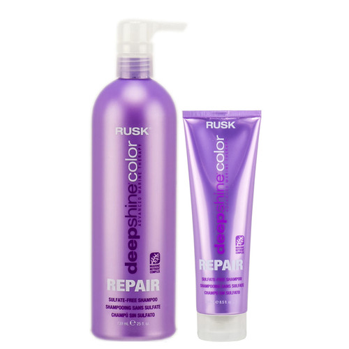 Rusk Deepshine Color Repair Sulfate - Free Shampoo