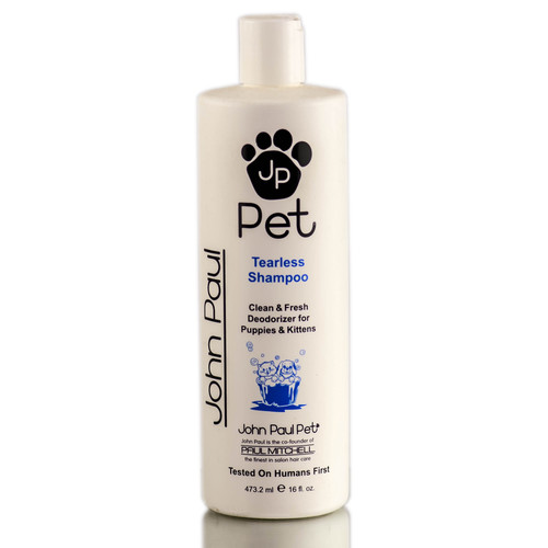 John Paul Pet Tearless Puppy & Kitten Shampoo - gentle care for dogs & cats for any age