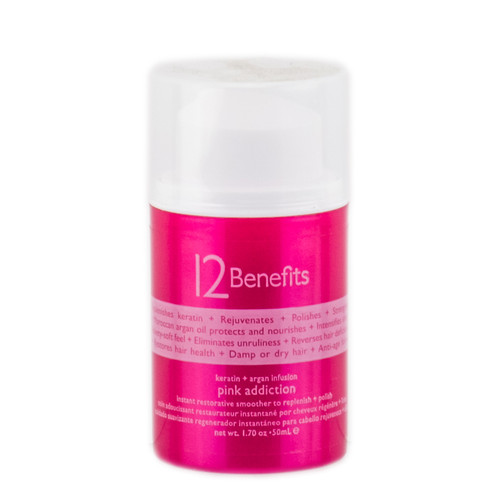 12 Benefits Keratin Argan Infusion Pink Addiction