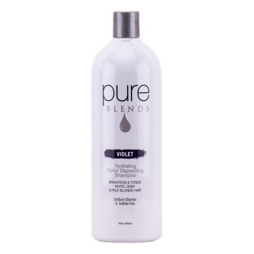 Pure Blends Hydrating Color Depositing Shampoo - Violet