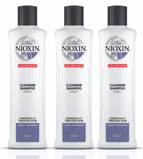 Nioxin System 5 Cleanser for Medium to Coarse Hair