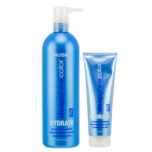 Rusk Deepshine Color Hydrate Sulfate Free Shampoo