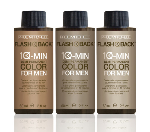 Paul Mitchell Flash Back 10-Minute Hair Color for Men
