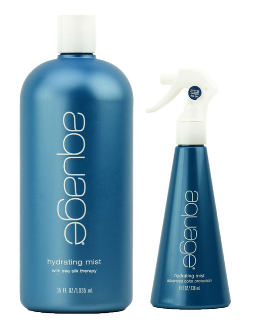 Aquage Hydrating Mist with sea silk therapy