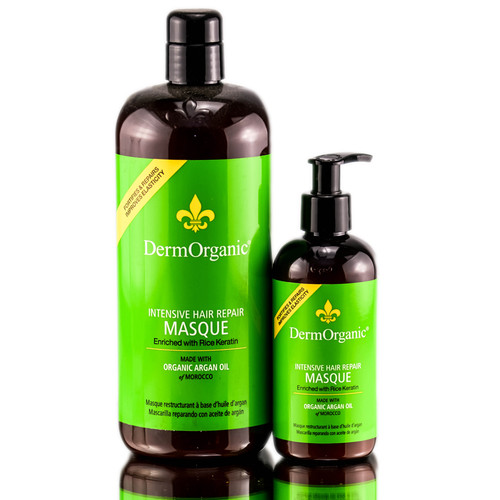 DermOrganic Intensive Hair Repair Masque with Argan Oil