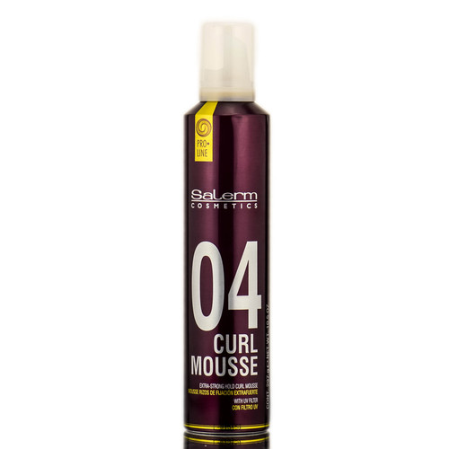 Salerm Cosmetics 04 Curl Mousse Extra Strong Hold